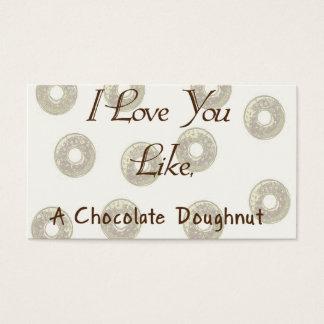 Chocolate Doughnut Business Card