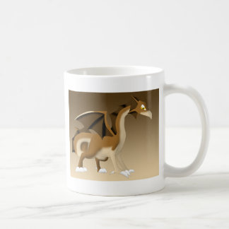 Chocolate Dragon Fantasy Cartoon Coffee Mug