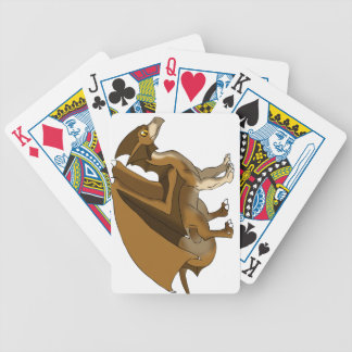 Chocolate Dragon Remake No Background Bicycle Playing Cards