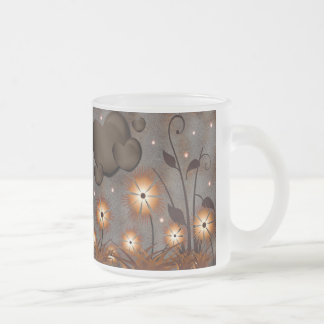 Chocolate Dream Frosted Glass Coffee Mug