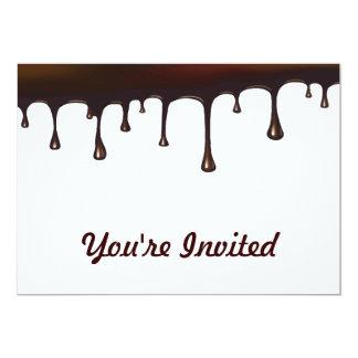 Chocolate Drip Set Card