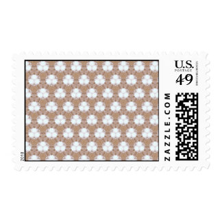 Chocolate Drops and Marshmallows Abstract Art Stamp