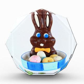 Chocolate Easter Bunny Acrylic Award