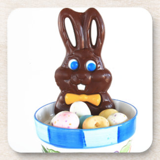 Chocolate Easter Bunny Coaster