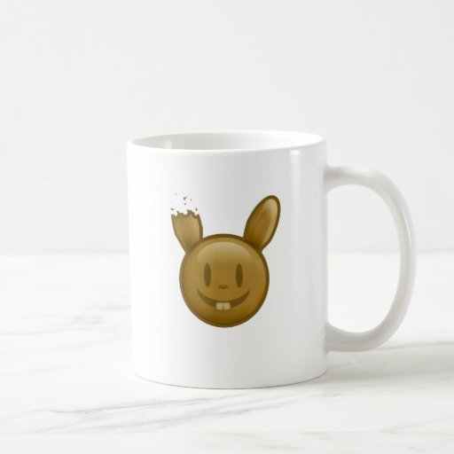 Chocolate Easter Bunny Coffee Mug