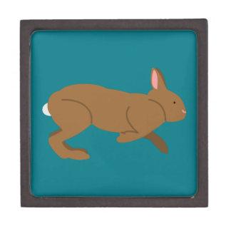 Chocolate Easter Bunny Rabbit Jewelry Box
