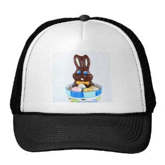 Chocolate Easter Bunny Trucker Hat