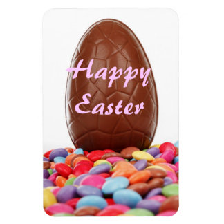 Chocolate Easter Egg Magnet