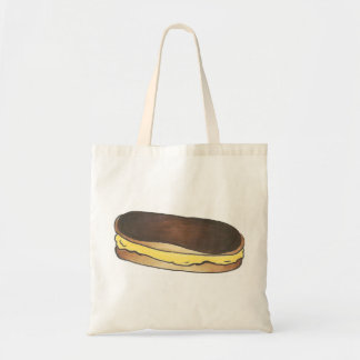 Chocolate Eclair Donut Pastry Dessert Foodie Tote