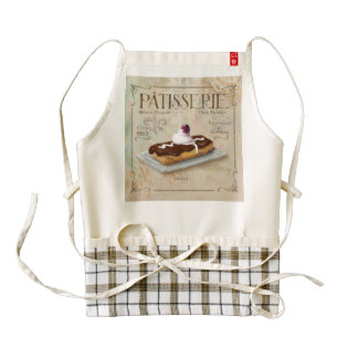 Chocolate eclair Patisserie Apron
