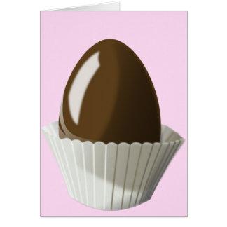 Chocolate Egg Card
