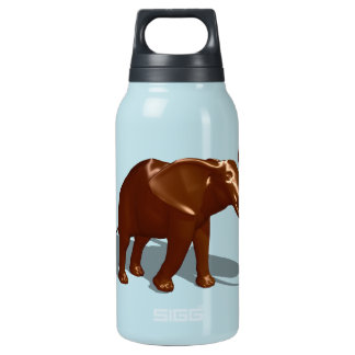 Chocolate Elephant Insulated Water Bottle