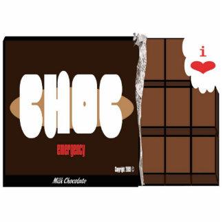 Chocolate Emergency Magnet
