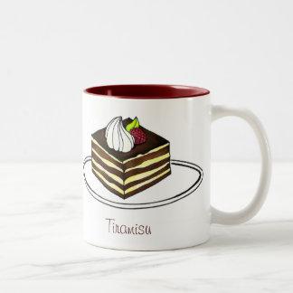 Chocolate Espresso Italian Pastry Tiramisu Mug