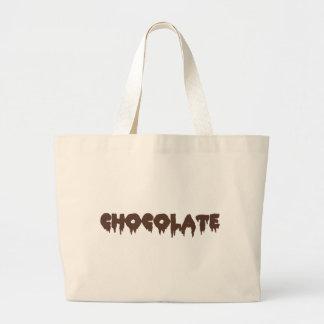 Chocolate - estilo rocoso del horror bolsa