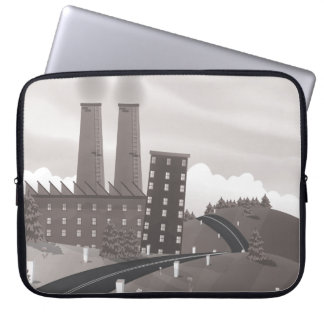 Chocolate Factory Laptop Computer Sleeves