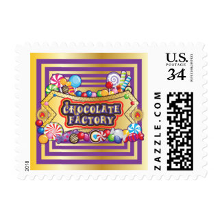 Chocolate Factory Stamps