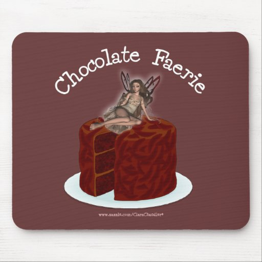 Chocolate Faerie Mouse Pad