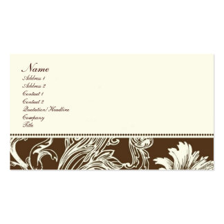 Chocolate Fantasy Business Cards