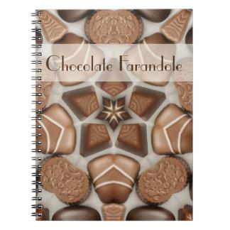 chocolate farandole note books