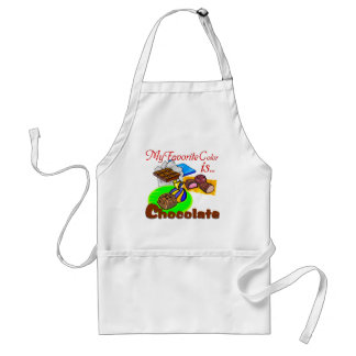 Chocolate Favorite Colour grocery sweets candy Adult Apron