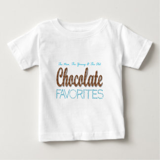 Chocolate Favorites Baby T-Shirt