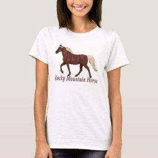 Chocolate Flaxen Rocky Mountain Horse Gaited T-Shirt