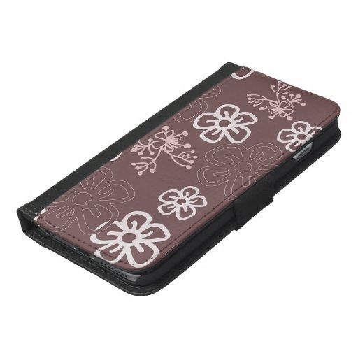 Chocolate flowers phone case