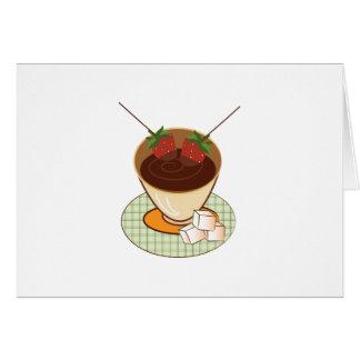 Chocolate Fondue Card