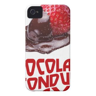 Chocolate Fondue Day - Appreciation Day iPhone 4 Case-Mate Case