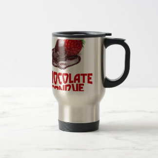 Chocolate Fondue Day - Appreciation Day Travel Mug
