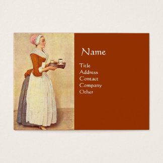 CHOCOLATE FONDUE DINNER PARTY BUSINESS CARD