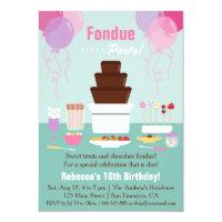 Chocolate Birthday Invitations Zazzle