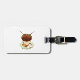 Chocolate Fondue Bag Tag