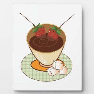Chocolate Fondue Plaque
