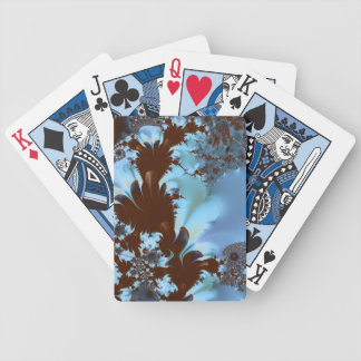 Chocolate Fountain Fractal Bicycle Playing Cards