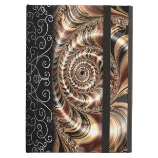 Chocolate Fractal Swirl Case For iPad Air