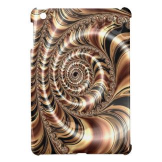 Chocolate Fractal Swirl Case For The iPad Mini