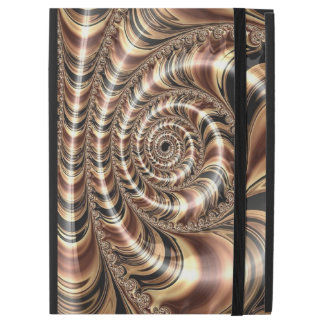"Chocolate Fractal Swirl iPad Pro 12.9"" Case"