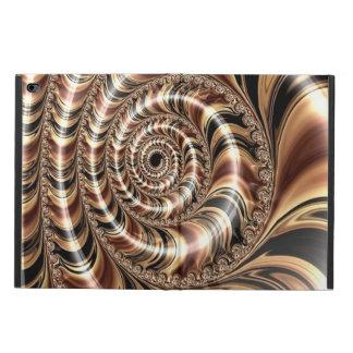 Chocolate Fractal Swirl Powis iPad Air 2 Case