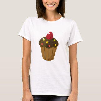 Chocolate Frosted Cupcake T-Shirt