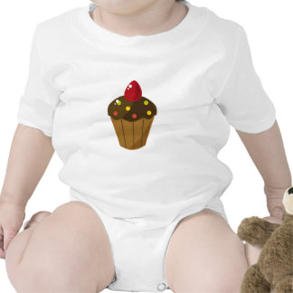 Chocolate Frosted Cupcake Tee Shirt