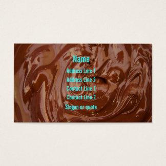 Chocolate Fudge Business Card