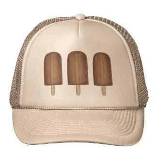 Chocolate Fudge Fudgesicle Popsicles Ice Cream Hat