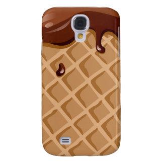 Chocolate Fudge Waffle Cone Galaxy S4 Case
