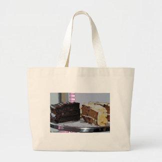 Chocolate Fudge y Carrot Cake - ilustrada Bolsa
