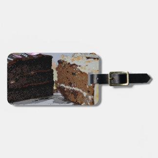 Chocolate Fudge y Carrot Cake - ilustrada Etiquetas Bolsa