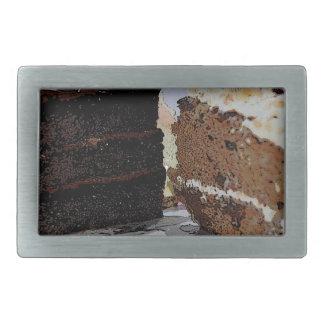 Chocolate Fudge y Carrot Cake - ilustrada Hebillas De Cinturon