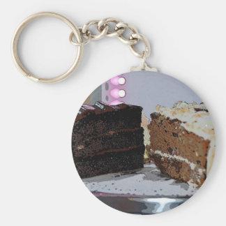 Chocolate Fudge y Carrot Cake - ilustrada Llaveros