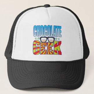 Chocolate Geek v4 Trucker Hat